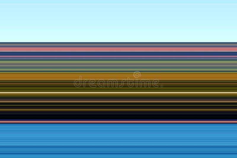 O contraste branco azul verde cor-de-rosa amarelo macio alinha, textura abstrata ilustração do vetor