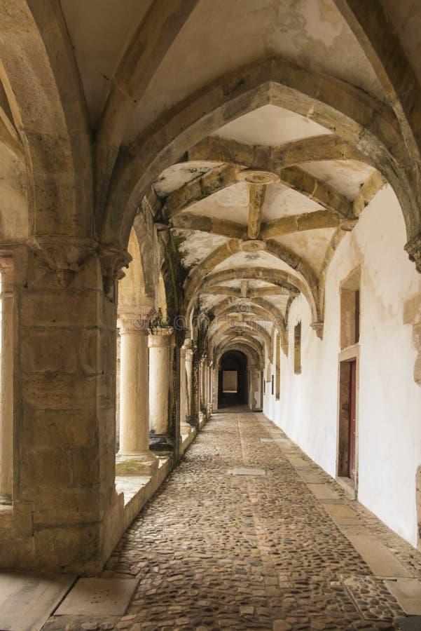 O convento de Cristo é um romano anterior - monastério católico dentro a foto de stock