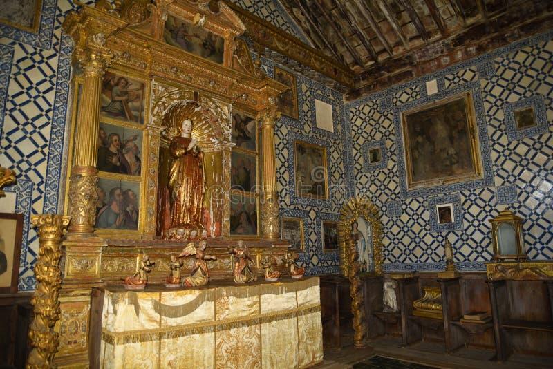 O convento de Santa Clara em Funchal Madeira foto de stock