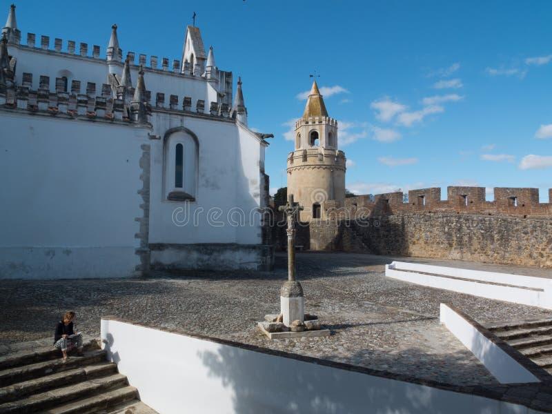 O convento de Viana faz o Alentejo, Évora, Portugal imagem de stock royalty free
