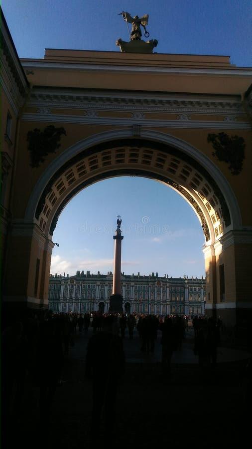 O coração de Petersburgo imagens de stock