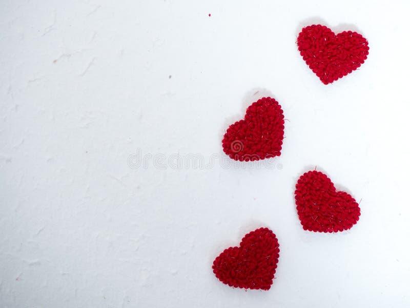 O coração deu forma à tela no papel da amoreira branca imagens de stock