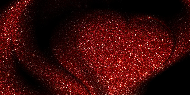O coração do brilho textured o fundo com gota da água foto de stock