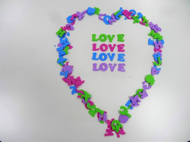 O coração shapped escrevendo um espaço de mensagem para escrever Live Hope imagem de stock