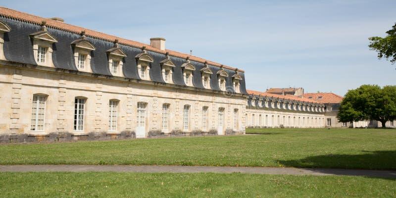 O Corderie Royale forneceu cordas para a marinha francesa e seus navios por mais de três séculos imagem de stock royalty free