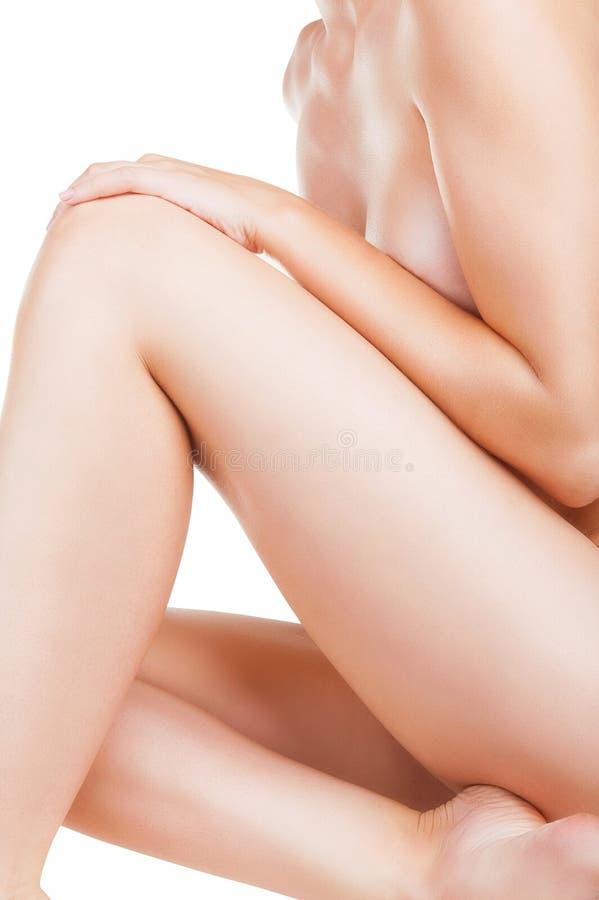 O corpo da mulher imagens de stock