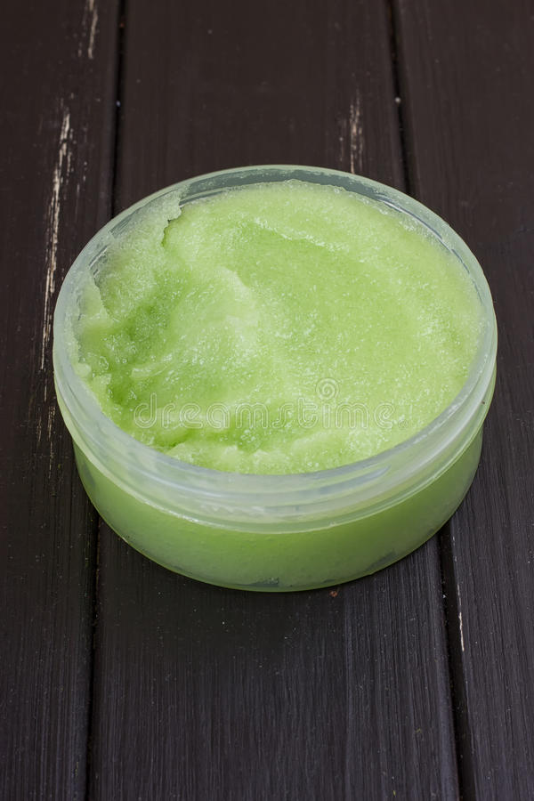 o corpo verde esfrega imagem de stock