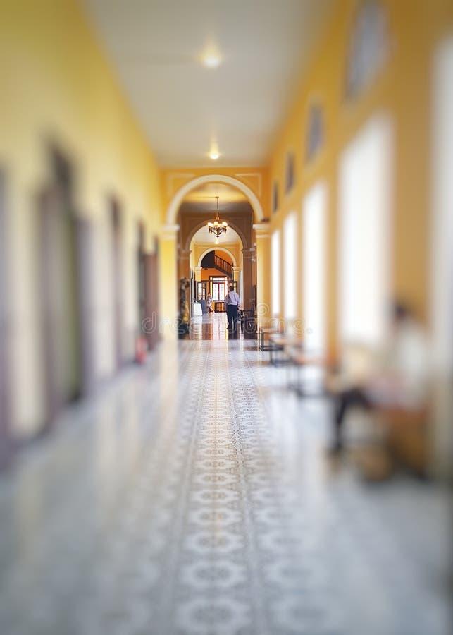 O corredor fotografia de stock