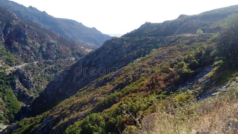 O corsica& x27; paysages de s imagem de stock royalty free