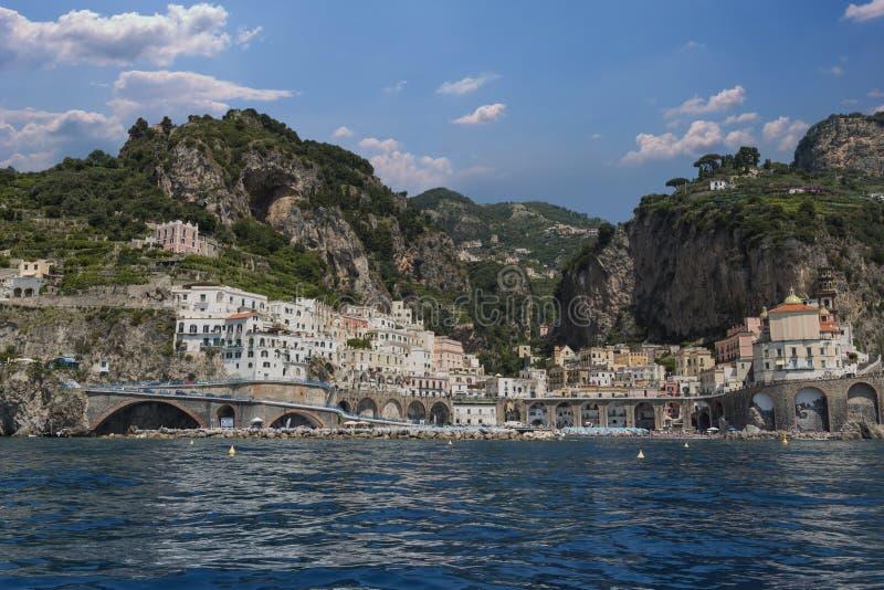 O Costiera bonito Amalfitana imagem de stock royalty free