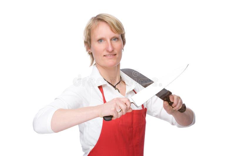 O cozinheiro imagem de stock