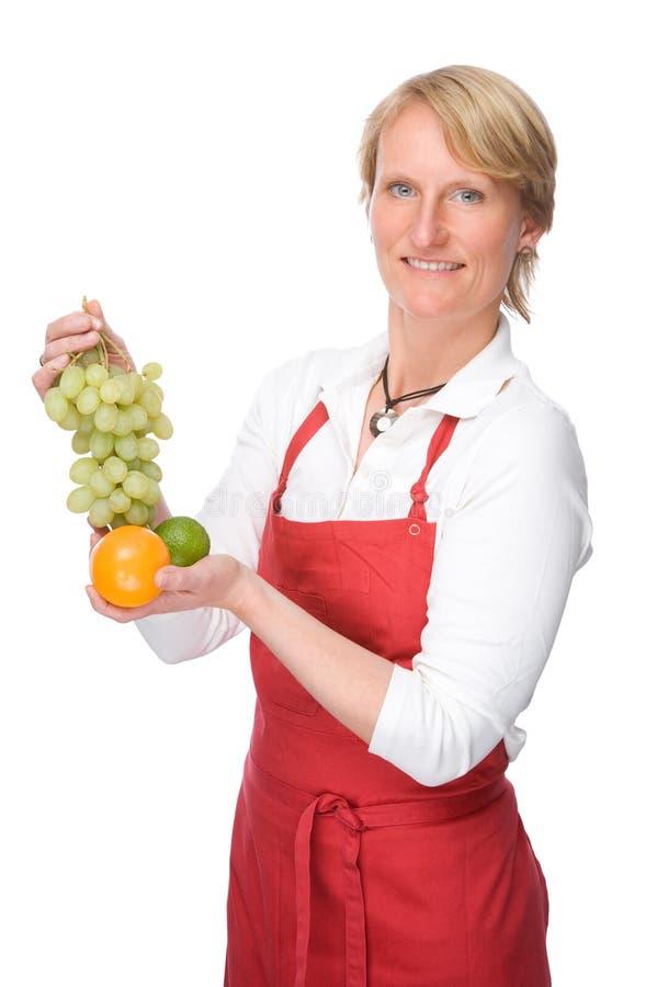 O cozinheiro foto de stock