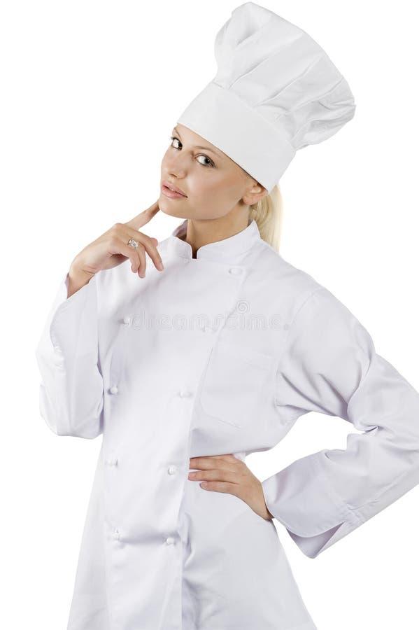 O cozinheiro chefe fotos de stock royalty free