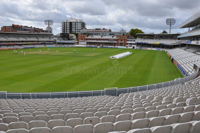 O Críquete Terra do senhor em Londres imagem de stock royalty free