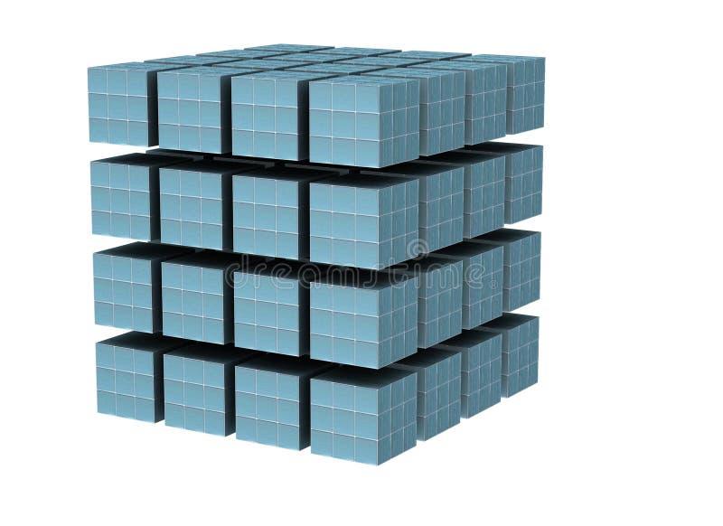 O cubo ilustração royalty free