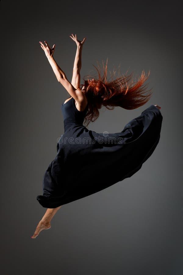 O dançarino foto de stock