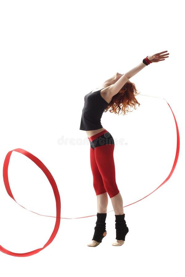 O dançarino fotografia de stock