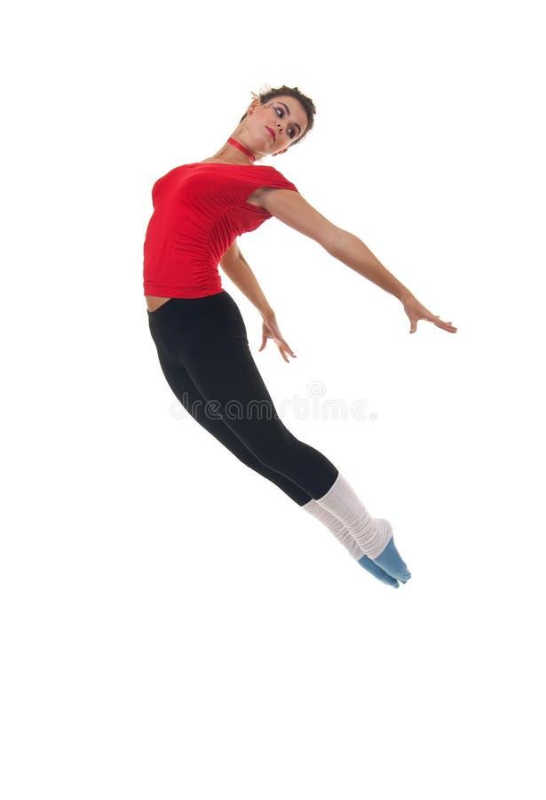 Download O Dançarino Moderno Do Estilo Está Levantando Imagem de Stock - Imagem de flexibilidade, salto: 16865725