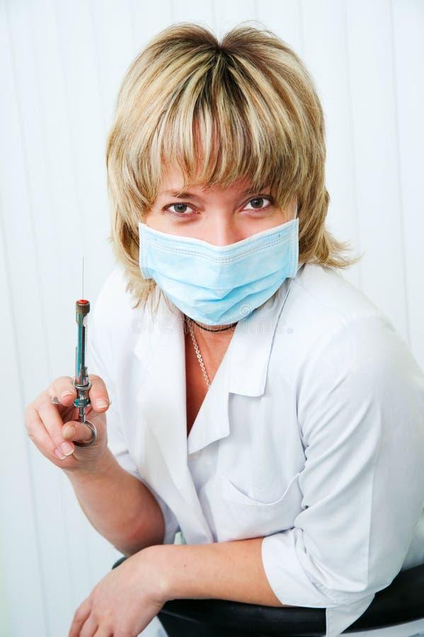 O dentista imagens de stock royalty free