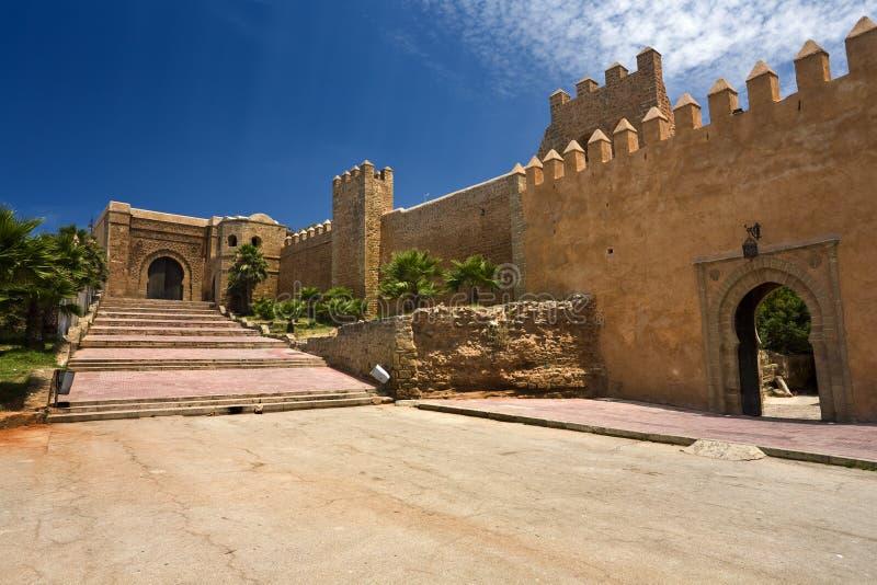 O DES Oudaias de Kasbah foto de stock