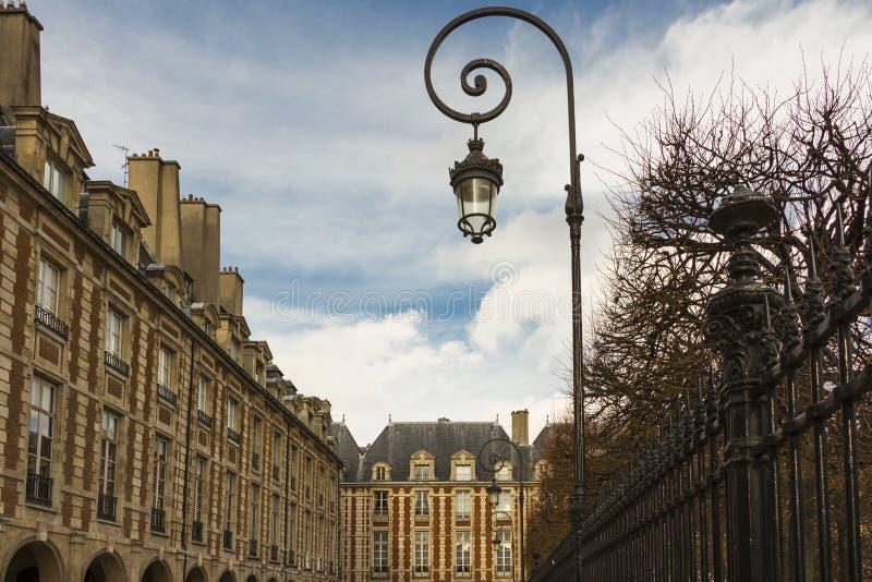 O DES Vosges do lugar, Paris, França fotos de stock royalty free
