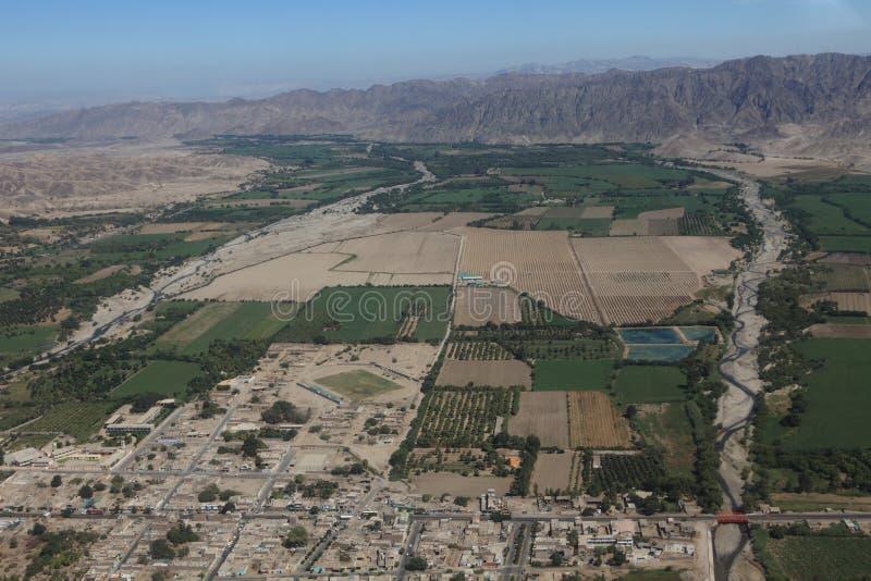 O deserto de Nazca imagem de stock royalty free