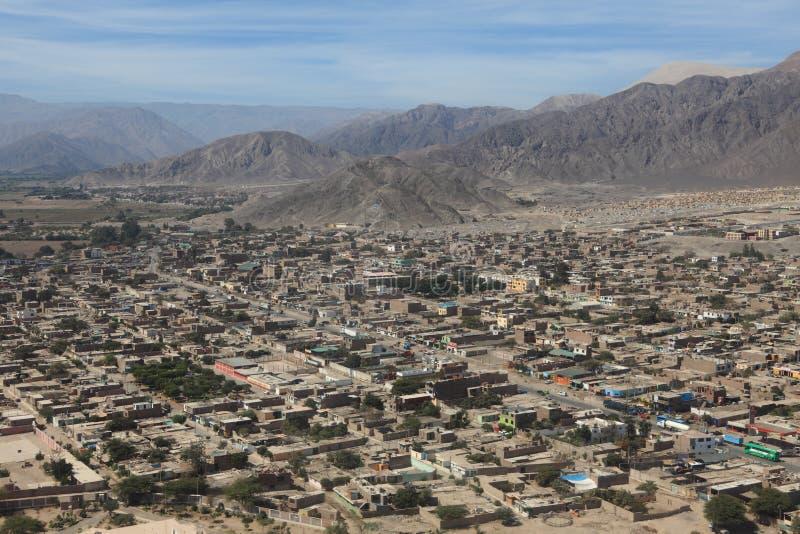 O deserto de Nazca fotografia de stock royalty free