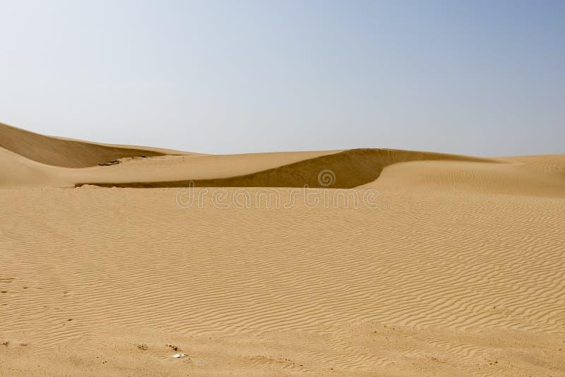 O deserto de Sahara tunisino imagem de stock royalty free