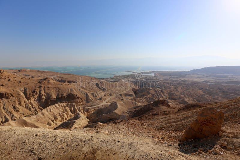 O deserto judaico no Médio Oriente imagens de stock royalty free