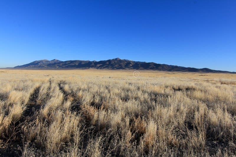 O deserto ocidental de Utá foto de stock