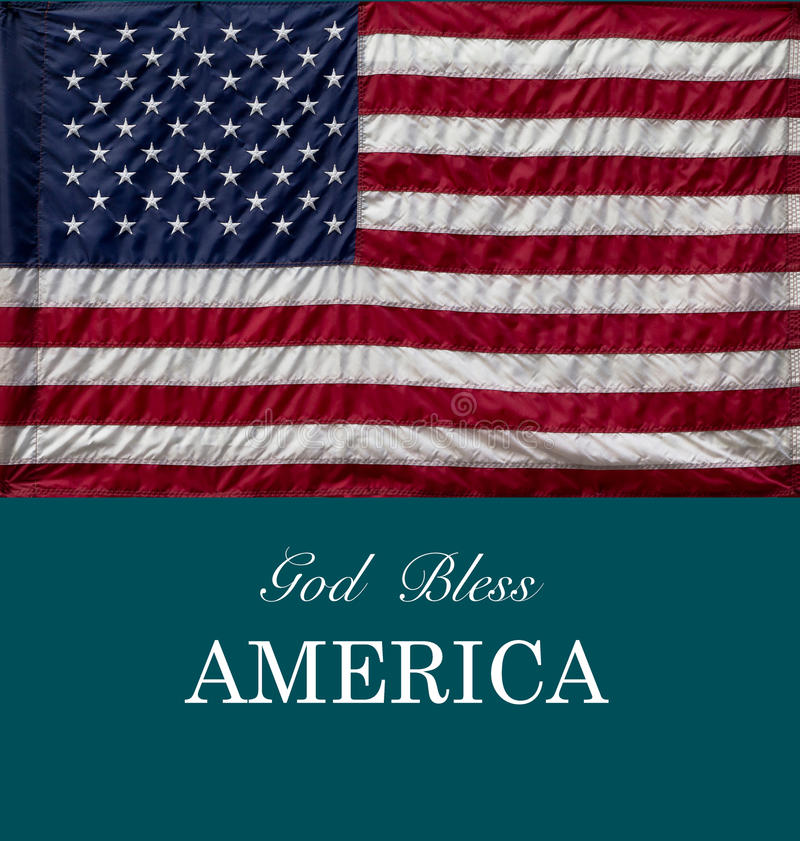 O deus abençoa América fotografia de stock royalty free