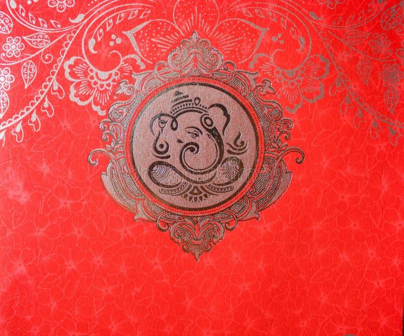 O deus-Ganesha hindu ilustração royalty free