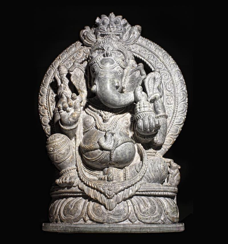 O deus hindu de Ganesh isolou-se fotos de stock royalty free