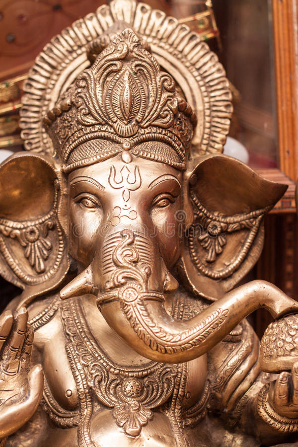 O deus Hindu Ganesh imagens de stock