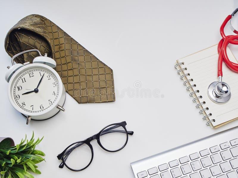 O dia de pai ou o médico fotografia de stock royalty free