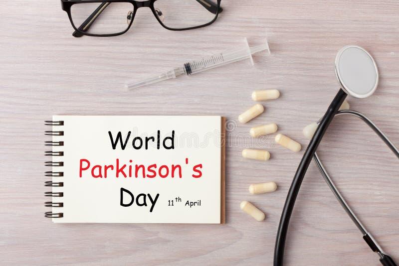 O dia de Parkinson do mundo foto de stock royalty free