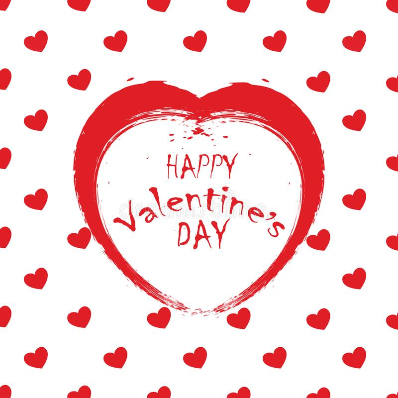 O dia de Valentim 01 ilustração royalty free