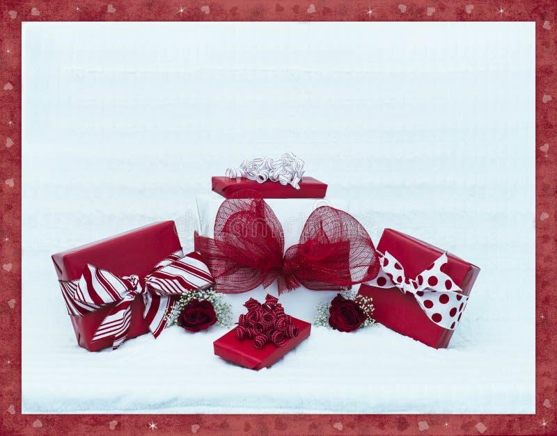 O dia de Valentim empacota 2 imagens de stock royalty free