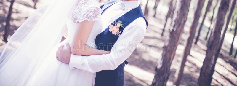O dia do casamento fotografia de stock royalty free