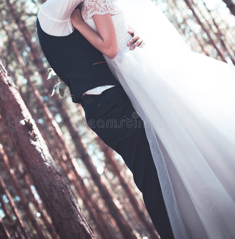 O dia do casamento foto de stock