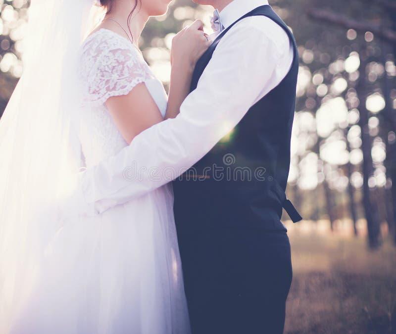 O dia do casamento imagens de stock royalty free