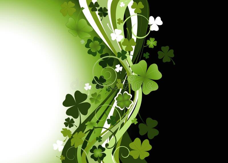 O dia do St. Patrick ilustração do vetor