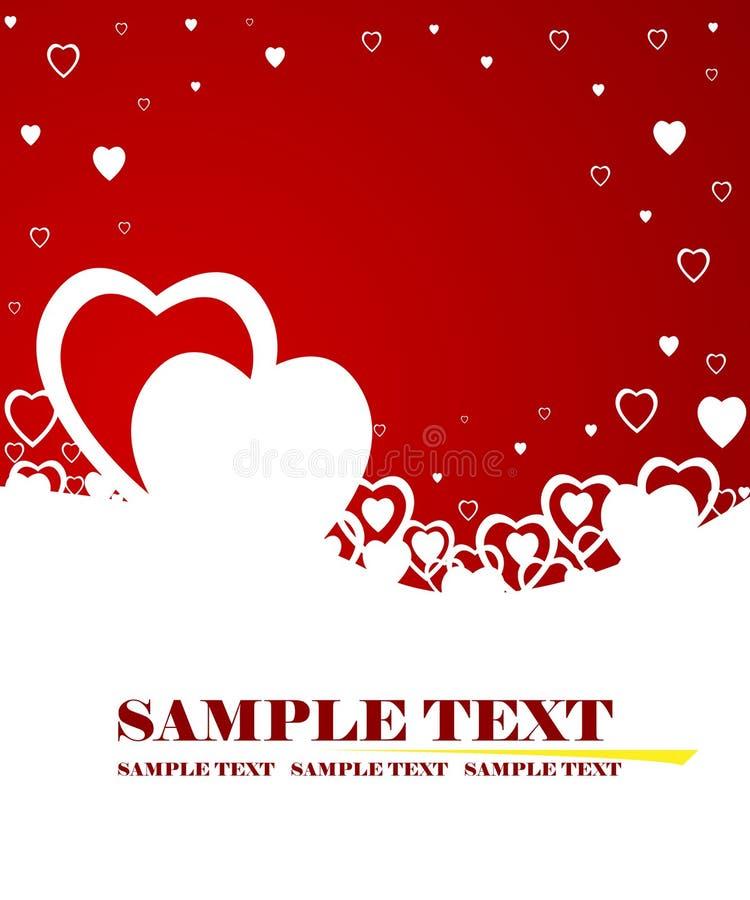 O dia do Valentim ilustração stock