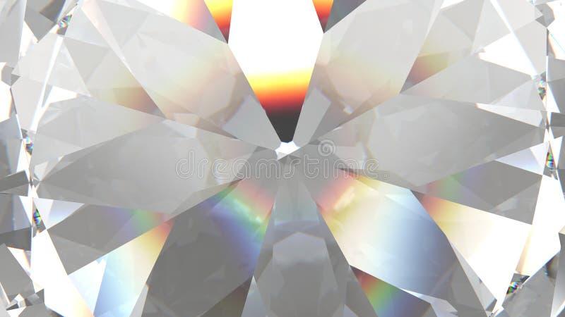 O diamante ou o cristal triangular mergulhado da textura d?o forma ao fundo modelo da rendi??o 3d ilustração stock
