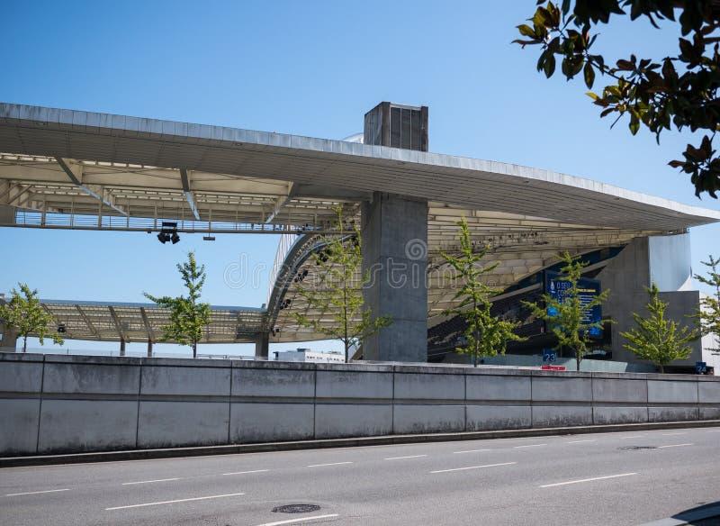 O dio do ¡ de Dragon Stadium/Està faz Dragão, o Porto FC moído em Porto, Portugal foto de stock