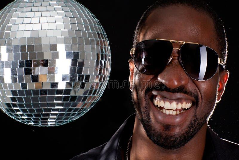 O DJ o mais fresco na cidade imagens de stock royalty free