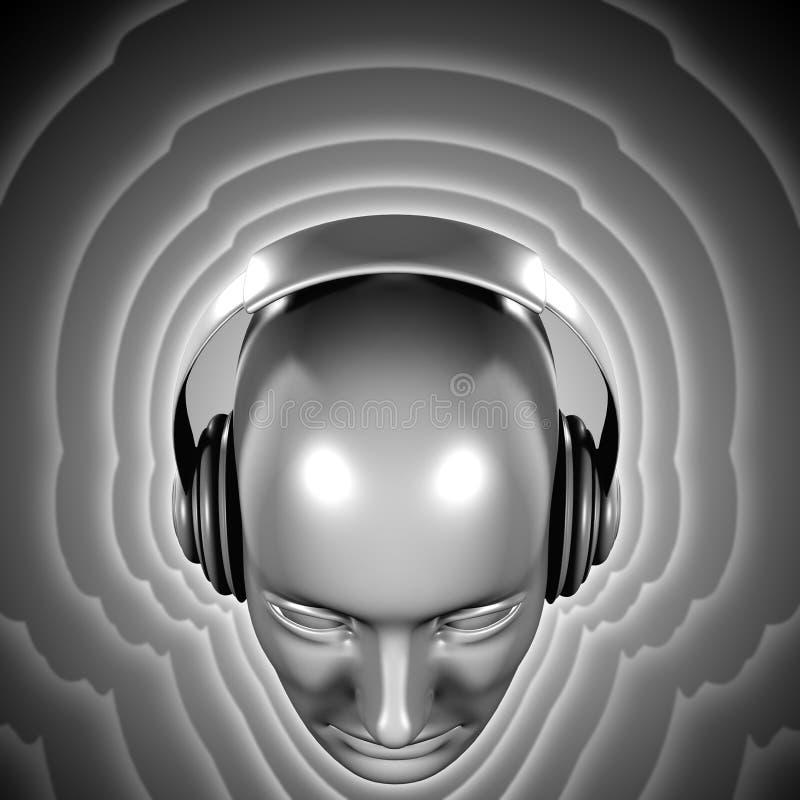 O DJ soa ilustração royalty free