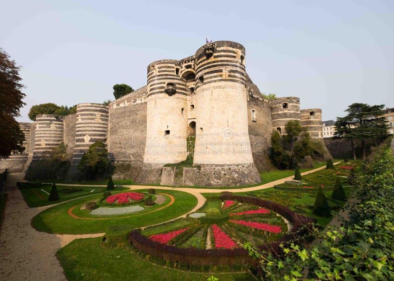 O ` do castelo d irrita, Loire Valley, França imagem de stock