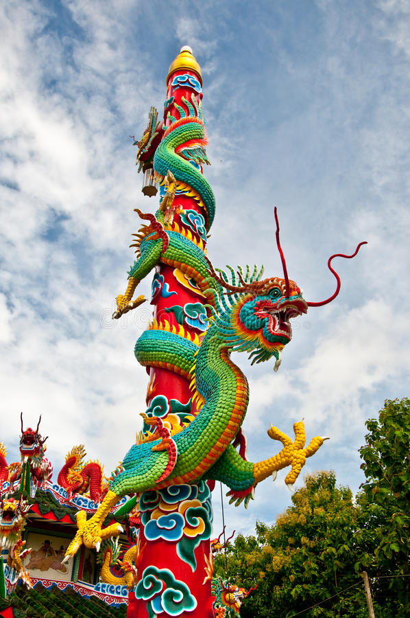 O dragão Pólo foto de stock royalty free