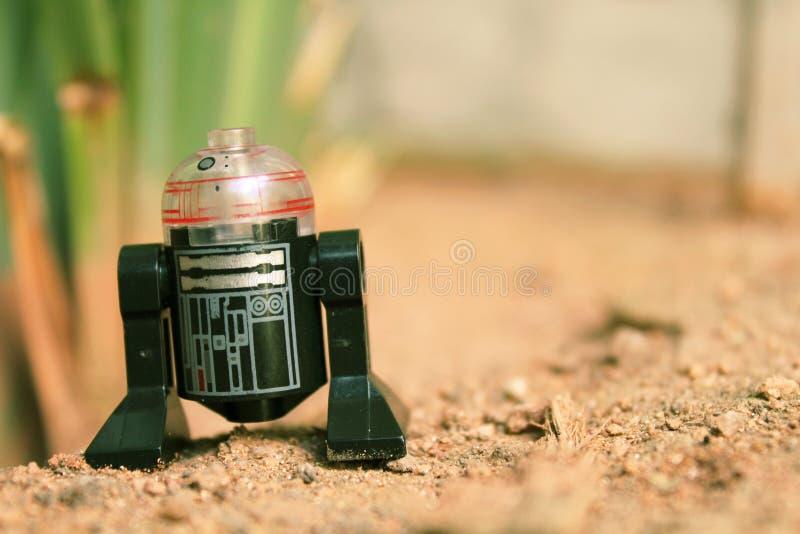 O droid fotos de stock royalty free